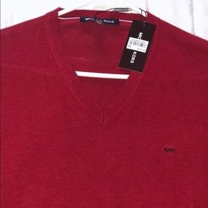 Men's red Michael Kors sweater